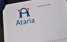 Logotipo Ataria finalista portada de la memoria