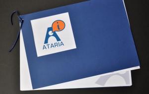 Logotipo Ataria portada de la memoria 1