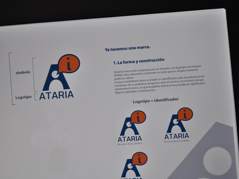 Logotipo Ataria memoria presentada 2
