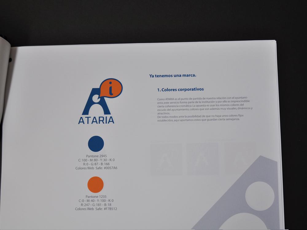 Logotipo Ataria memoria presentada 3