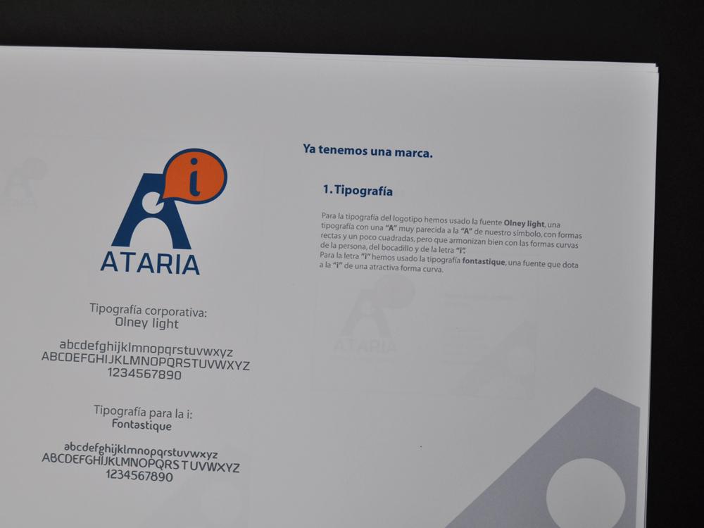 Logotipo  Ataria propuesta presentada 4