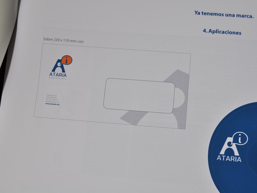 Logotipo Ataria Propuesta presentada 5
