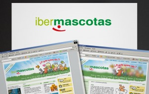 Logotipo de ibermascotas portal de mascotas