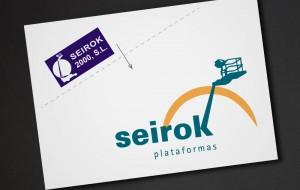 reestyling del logo de plataformas Seirok