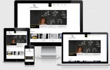Muestra la web de Marider Aranburu en diferentes soportes