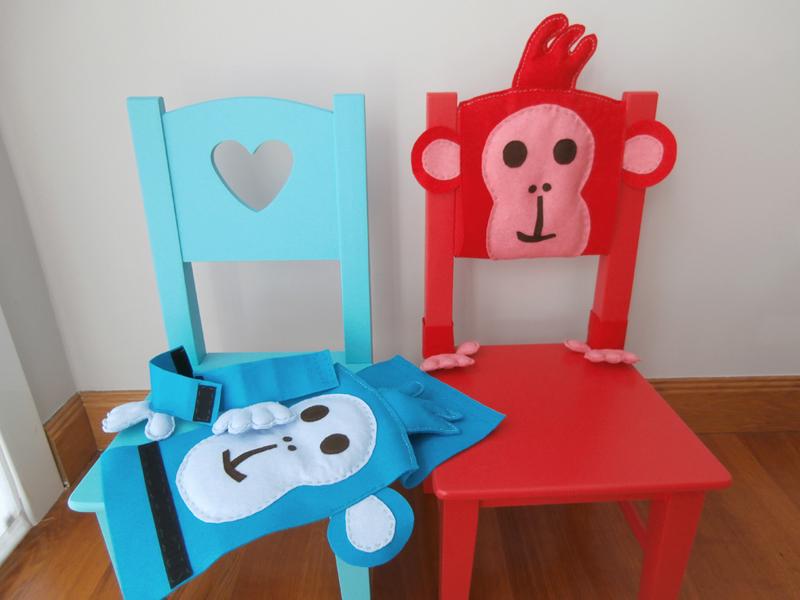 Customizar unas sillas infantiles marider aranburu for Sillas para nino de 5 anos