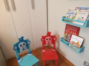Rincón de lectura para niños