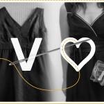 Convertir un vestido  de escote V en escote corazón